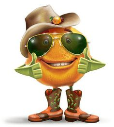 Orange Cowboy