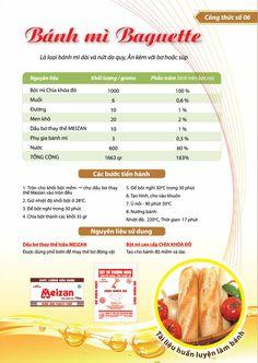 Công thức làm bánh mì baguette