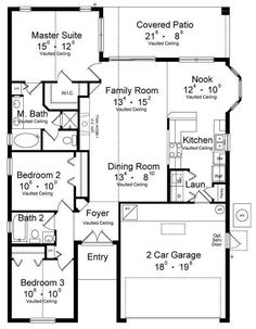 Nice First Floor Plan Image Of The Amelia Island Collection House Plan 1399 Sq Ft