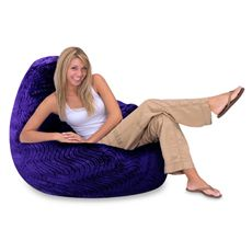 Large Purple Swirl Bean Bag Cover | Bed Bath and Beyond