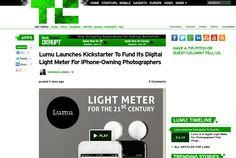 http://techcrunch.com/2013/06/17/lumu-kickstarter/ ...   #Indiegogo #fundraising http://igg.me/at/tn5/