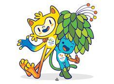 Mascotes Rio 2016: conheça-os e ajude a batizá-los                                                                                                                                                     Mais