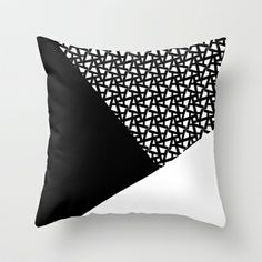 A_pattern Throw Pillow by Three Lives Left - $20.00