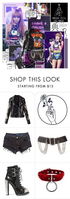 """""""Whoever looks at me can see I'm kind of a killer"""" by aliicia21 ❤ liked on Polyvore featuring Agent Provocateur, Brandy Melville, Dilara Findikoglu, Burberry, Alexander McQueen and Gosh"""