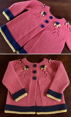 Amazing Knitting provides a directory of free knitting patterns, tips, and tricks for knitters. Kids Knitting Patterns, Baby Cardigan Knitting Pattern, Knitted Baby Cardigan, Toddler Sweater, Unisex Looks, Baby Coat, Baby Sweaters, Loom Knitting, Knit Crochet