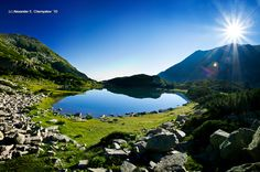 Muratov lake in Pirin mountains, Bulgaria