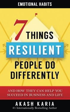 Emotional Habits: The 7 Things Resilient People Do Differ... https://www.amazon.com/dp/1533260575/ref=cm_sw_r_pi_dp_x_8YxVybKARBJYY