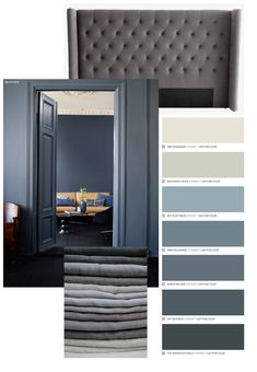 Bedroom with dressing room: projects, photos and plans - Home Fashion Trend Make A Closet, Simple Closet, Bird Bedroom, Home Bedroom, Door Design Interior, Interior Design Living Room, Bedroom Color Schemes, Bedroom Colors, Monochrome Interior