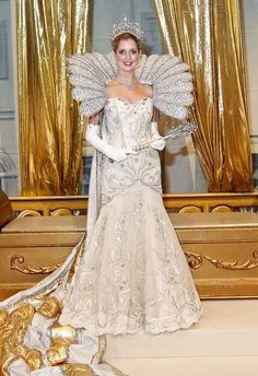 Mithras Ball Mardi Gras queen - gown by my friend, fabulous gown designer out of New Orleans, Suzanne Perron.
