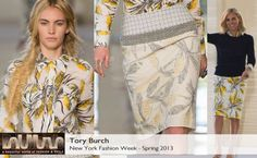 Tory Burch Spring 2013 collection #BelleMonde #Fashion #NewYorkFashionWeek