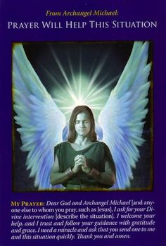 Message from Archangel Michael: Prayer Will Help   Archangel Michael Oracle Cards