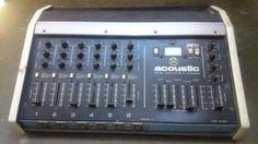 acoustic control 370 bass amplifier and 301 speaker cabinet acoustic bassamp pinterest. Black Bedroom Furniture Sets. Home Design Ideas