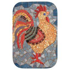 Mosaic tablet www.arassta.com Mosaic Animals, Mosaic Birds, Mosaic Crafts, Mosaic Art, Fused Glass Art, Stained Glass, Mosaic Patterns, Mosaic Ideas, Diy Table Top
