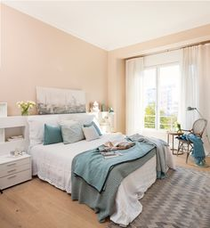 What Everybody Dislikes About Relaxing Master Bedroom Decorating Ideas and Why Paint Painting the bedroom can be among the least expensive and most dr. Bedroom Color Schemes, Bedroom Paint Colors, Relaxing Master Bedroom, Interior Design Living Room Warm, Suites, New Room, Bedroom Decor, Bedroom Sets, Decoration