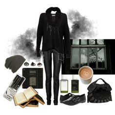 """Why am I still here?"" by morbid-octobur on Polyvore #goth #gothic #dark…"