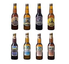 Bières Drômoises Markus et la Grièhte blonde blanche ambrée brune