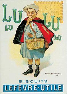 Affiche LU Bouisset