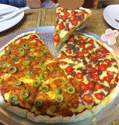 Cozinhando sem Glúten: Pizza com borda