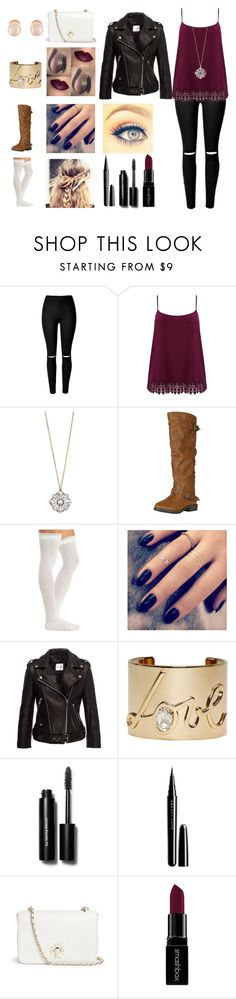 """""""Untitled #81"""" by merchel ❤ liked on Polyvore featuring M&Co, Aéropostale, Charlotte Russe, Lottie, Lanvin, Bobbi Brown Cosmetics, Marc Jacobs, Tory Burch, Smashbox and Kenneth Jay Lane"""