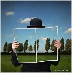 Sem título Patrick Desmet ou Patrick De Smet (Bélgica, 1964) Técnica mista com fotografia