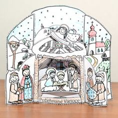 betlem_poskladany Advent, Art, Art Background, Kunst, Performing Arts, Art Education Resources, Artworks