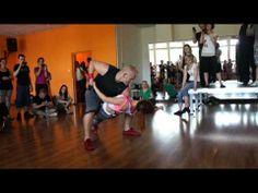 Bachata Lovers Festival 2013 Gabryel & Begona - Bachata tricks & dips & acrobatics - YouTube