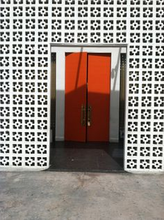 Image result for mid century block wall images