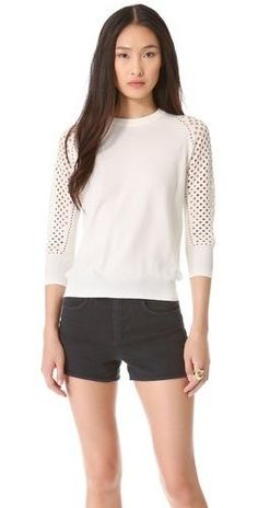 a94f0a4d4c25f7 Marc by Marc Jacobs Cienaga Sweater  198.00 White Chic