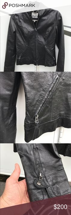 BB Dakota 100% Leather Jacket 100% Real Leather Jacket • BB Dakota • Size Medium • Would fit a Small • In MINT CONDITION • Very GENTLY used • In LIKE NEW condition • Originally $350 • BB Dakota Jackets & Coats