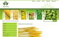 Spletna stran podjetja Agromag d.o.o.