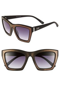81d9bfd70a46 Quay Retro Sunglasses available at  Nordstrom Quay Sunglasses