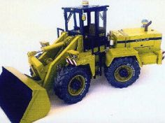 ZTS UNK 320 Loader Free Construction Vehicle Paper Model Download