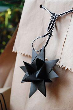 Easy nordic style wrapping. Envoltura de regalo estilo nórdico por Casa Haus