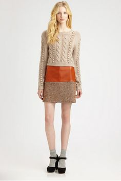 16 Genuinely Cool Tweed Finds To Add Some Class To Your Closet- Opening Ceremony, love this outfit