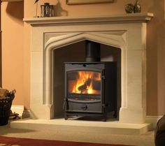 fire surrounds for stoves | Fireline Boscombe Stove Package