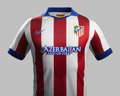 Atlético Madrid 2014-15 Nike Home