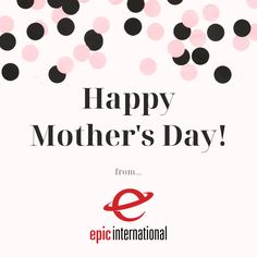 Happy Mother's Day from Epic International! . . . . . #mothersday #mothersdaygift #love #happymothersday #mom #mother #family #motherhood #gift #momlife #mothersdaygiftideas #flowers #mothers #shoplocal #handmade #mothersdaygifts #giftideas #mama #fathersday #birthday #gifts #stayhome #covid #instagood #smallbusiness #supportsmallbusiness #fashion #shopsmall #happy
