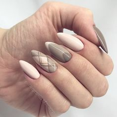 36 Perfect and Outstanding Nail Designs for Winter dark color nails; nude and sparkle nails; Dark Color Nails, Gray Nails, Nude Nails, Nail Colors, Acrylic Nails, Coffin Nails, French Pedicure, Manicure E Pedicure, Manicure Ideas