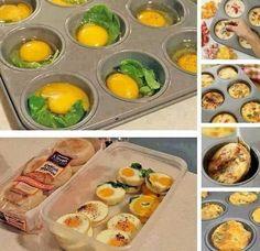 Huevos horneados