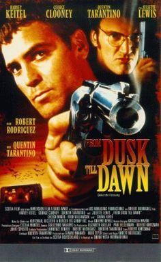 """#RobertRodriguez blutige Vampir-Komödie """"From Dusk Till Dawn"""" gehört sicher zu den härtesten Vertreten seines Genres - garniert mit coolen Sprüchen von George Clooney und Quentin Tarantino. #imdb"""