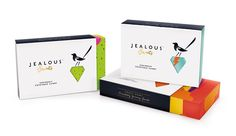 B studio has rebranded Jealous Sweets, a UK entrepreneur looking to bring credibility to candy with its range of delicious and high quality sweets for grown-ups. Jealous specialises in gummy and jelly treats that are made without gelatine, artificial colours or flavours, so they're 100% vegetarian, gluten-free and full of natural fruit juices.