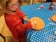 Pizzabodems maken voor de pizzeria