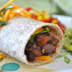Black Bean Soft Tacos Allrecipes.com