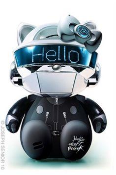 Hello Kitty Daft Punk