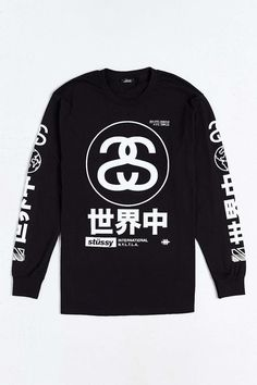 Stussy Japan International Long-Sleeve Tee the aesthetics are so strong with this one