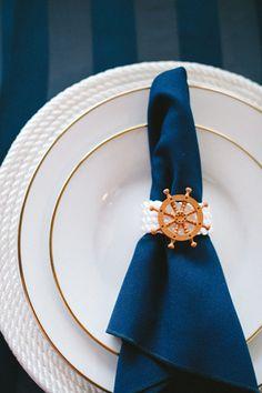 Nautical table wedding ideas