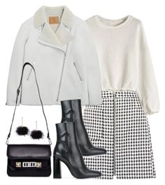 """Untitled #4861"" by theeuropeancloset on Polyvore featuring New Look, McQ by Alexander McQueen, Jil Sander and Proenza Schouler"