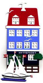 Swedish Papercut Mobile, Hyttefadet