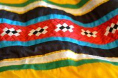 Seminole Indian patchwork