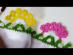 Crochet Borders, Crochet Earrings, Health, Fitness, Youtube, Lace, Knitting And Crocheting, Gymnastics, Crochet Edgings